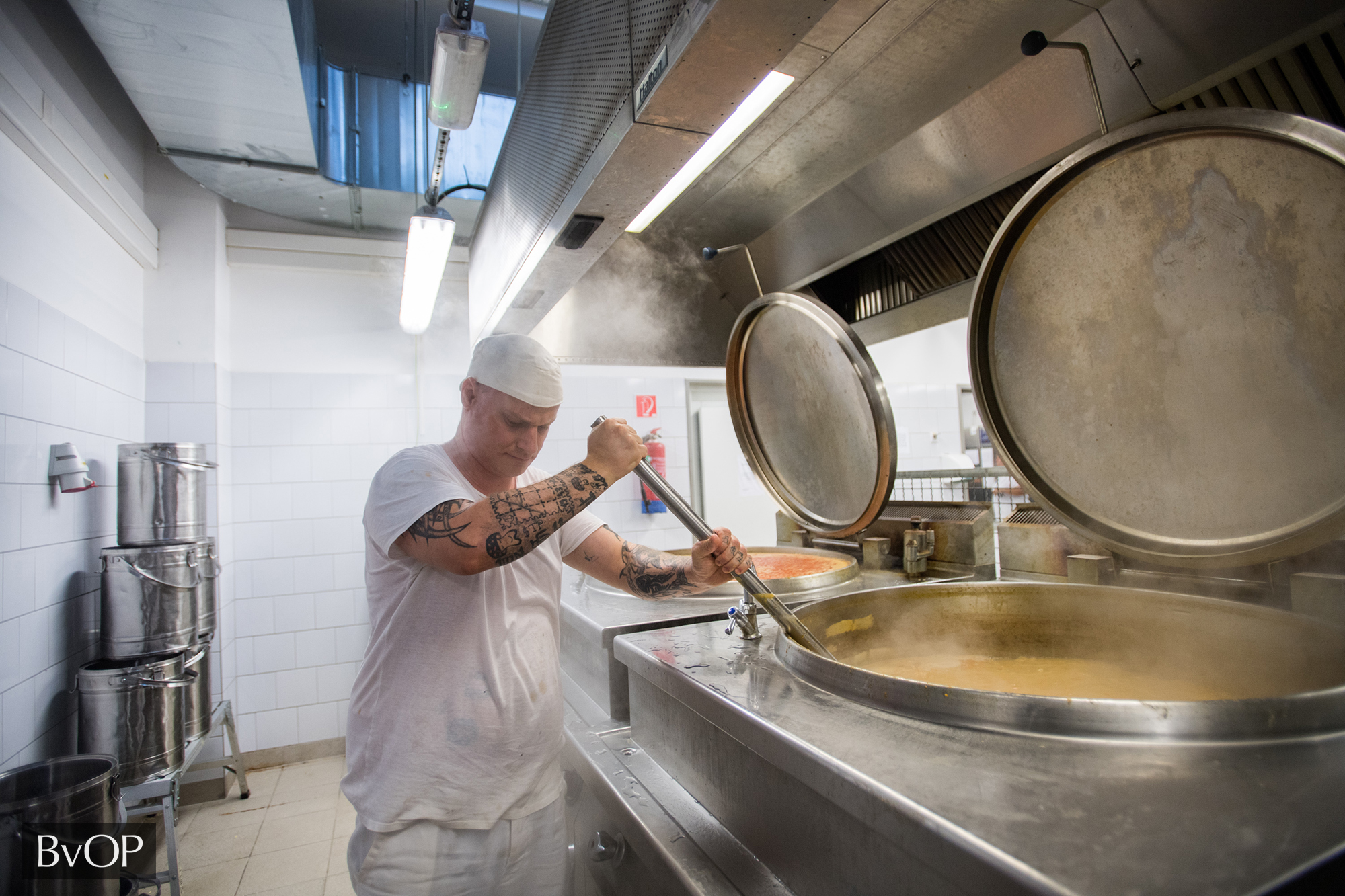 Fogvatartottak főznek saját maguknak a börtönkonyhán