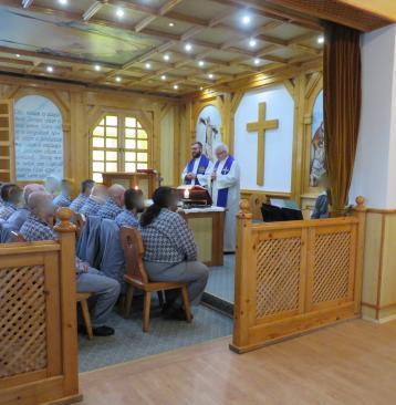 Szentmisét mutatott be Spányi Antal megyéspüspök az adventi ünnepkörhöz kapcsolódóan a Közép-dunántúli Országos Büntetés-végrehajtási Intézet baracskai objektumában