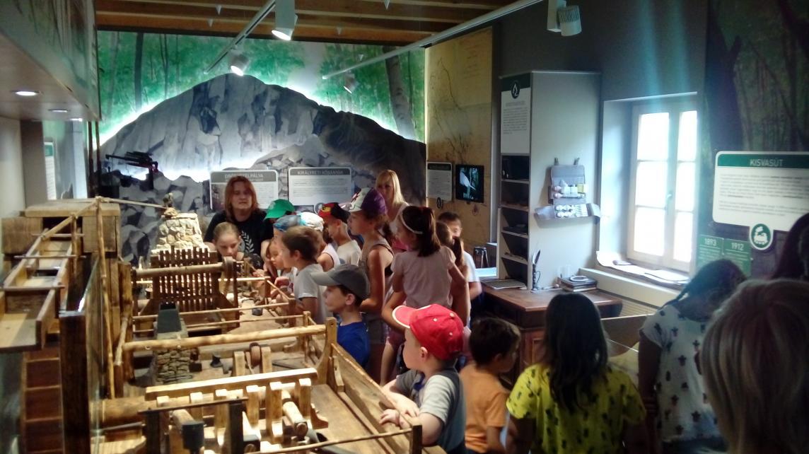 A Nemzeti Park interaktív múzeumában