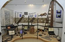 A Börtönmúzeum középkori kínzóeszközeit bemutató tárlata