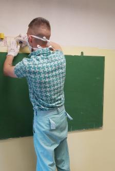 Fogvatartott a gyakorlati vizsga közben