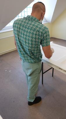 Gyakorlati vizsgán a fogvatartottak