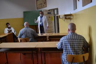 Írják a vizsgát a fogvatartottak