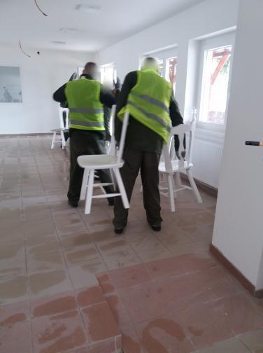 Jóvátételi munkát végeztek a martonvásári elítéltek Pázmándon