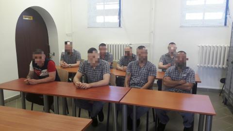 a résztvevő fogvatartottak köre