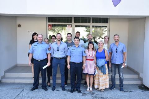 Cseh delegáció