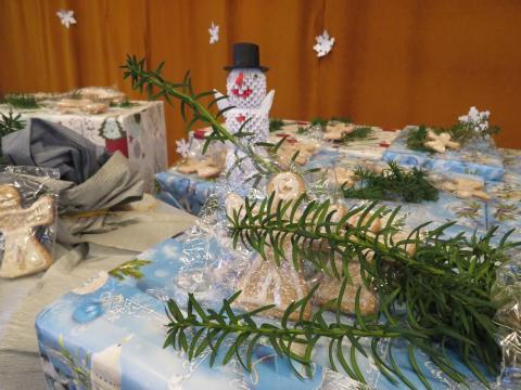 A baracskai elítéltek karácsonyi ajándékozása