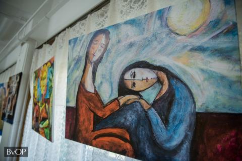 Vári Zsolt festőművész egyik alkotása
