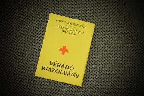 Véradás 2021. Fotó: Tiszalöki Bv. Intézet
